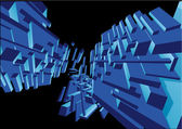Futuristic vector backgrounds. — Stock Vector