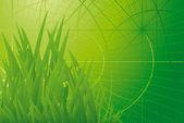 Green eenvironmen. — Stock Vector