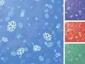 Christmas snowflake vector background. — Stock Vector