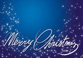 Shining Christmas stars and sparkles. — Stock Vector