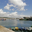 Concarneau, harbour in Brittany, France — Stock Photo #1767817