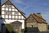 Timbered house in Lower Saxony, Germany, Europe — Stock Photo