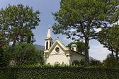 Monaco, small church, French Riviera, Europe — Stock Photo
