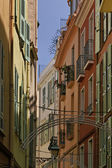 Monaco, picturesque oldtown alleyway — Стоковое фото