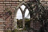 English garden gate — Stock Photo