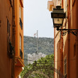 Monaco, picturesque old town alleyway, French Riviera, Southern Europe — Stockfoto