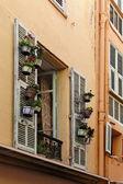 Monaco, picturesque oldtown alleyway — Stock Photo