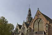 The Old church is Amsterdams oldest church, Holland, Netherlands — Stock Photo