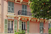 Monaco, pretty house detail in Monaco, French Riviera, Southern Europe — Stock Photo