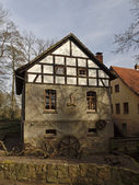 Gellenbecker mill in Hagen, Lower Saxony, Germany, Europe — Stock Photo