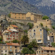 View of the the old town and Citadel, Corte, Central Corsica, France, Europe — Stock Photo