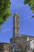Parish Church of San Nicolao, Paroissiale de San Nicolao, Costa Verde, Corsica, France, Southern Europe — Stock Photo