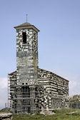 Murato, San Michelle de Murato, Corsica, France, Romance church — Stock Photo