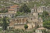 Santo Pietro di Tenda, Church Santo Pietro, baroque church Saint-Jean-Evangeliste, Northern Corsica, France — Stock Photo
