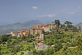 Vallecalle, mountain village in the Nebbio region, Northern Corsica, France, Europe — Stock Photo