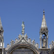 St Marks Basilica, facade detail, Venice — Stock Photo #9537396