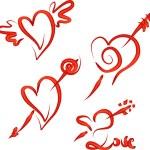 Valentine's Hearts Set — Stock Vector #1692711
