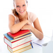 Smiling confident college student — Stock Photo #12812553