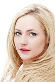 Beautiful blond girl — ストック写真