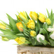 Bouquet of yellow tulips — Lizenzfreies Foto