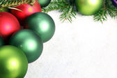 Several Christmas ornaments — Stock Photo