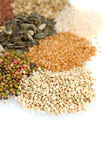 Display of a variey of pulses — Stock Photo