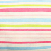 Striped linen background — Stock Photo
