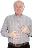 Chest pain — Stockfoto