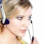 Woman call center — Stock Photo #22151143