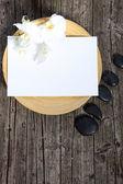纸浴垫 — 图库照片