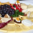 Cheese platter on a buffet — Stock Photo #24042149