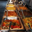 Hot vegetables on a catered buffet — Stock Photo #24042259
