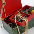 Open treasure box — Foto Stock