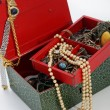 Open treasure box — Stock Photo #24087057