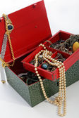 Open treasure box — Stock Photo