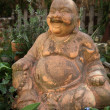 Smiling Buddha statue — Photo