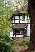 Half timber frame house — Stock Photo