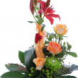Formal floral wedding arrangement — Stock Photo #26056005