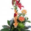 Formal floral wedding arrangement — Stock Photo
