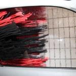 Car in a car wash — Stock Photo