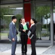 Stock Photo: Businesspeople