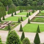 Formal garden — Stock fotografie