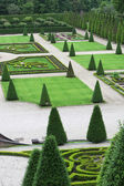 Elaborate formal garden — Stock Photo