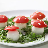 Cute appetizers — Stock Photo
