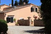 Mediterraean style villa — Stock Photo