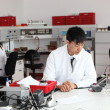 Young Asian laboratory technician — Stock fotografie