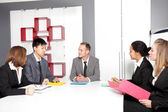 Meeting in conference room — Stock Photo
