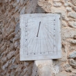 Old clock or sundial — Stock Photo