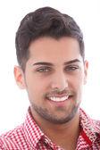 Gut aussehender jungen mann lächelnd — Stockfoto