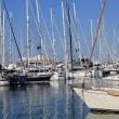 Stock Photo: Pleasure boats and yachts